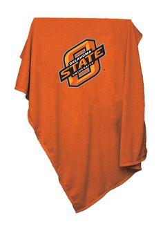 Oklahoma State Cowboys Orange Sweatshirt Blanket
