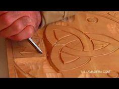 Curso fácil de talla en madera (4) - YouTube