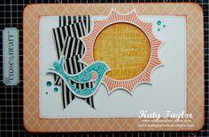 Sunshine - You're Tweet card MFTWSC117