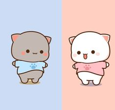 Cute Images, Cute Pictures, Cute Emoji, Galaxy Painting, Couple Wallpaper, Animal 2, Cute Gif, Perfect Photo, Mochi