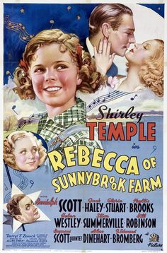 memories of my mom doing my hair in spit-curls while watching shirley temple movies...