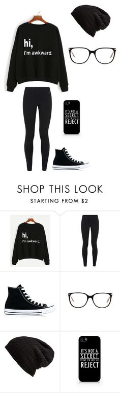 "Cute Outfits ""Untitled #151"" by darksoul7 on Polyvore featuring NIKE, Converse, Victoria Beckham, Free People and Samsung"