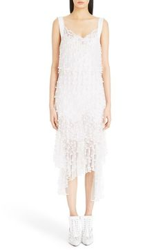 Givenchy Lace Trim Faux Pearl Embellished Dress available at #Nordstrom