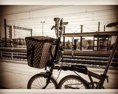 #bromptoncommuter #bromptonfoldingbike #valeriasbikeaccessoriescom #valeriasbarcelona #valeriashandleforbrompton #trigogear #trigobromptonedition #etidecrank #etide #monkiiadaptorforbrompton #monkiicage #duopower #barcelona http://ift.tt/2leXxDI
