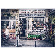 Noisy streets 2, Monastiraki #Walking Around #Athens #Greece #monastiraki #streets_greece #sunday#morning #wall #colorful #instagreece #ig_greece #ig_athens #vsco #vscoapp #vscocam #vscolife #streets_greece #street_photography #streetphotography