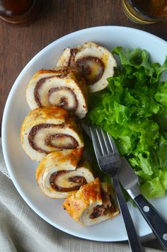 Chicken Roulades with Tapenade and Prosciutto by justataste #Chicken #Prosciutto #Healthy