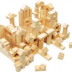 sk - Stavebnice a puzzle - Drevené kocky prírodné - 100 ks Wooden Building Blocks, Wooden Blocks, Best Kids Toys, Toys For Boys, Children Toys, Blocks For Toddlers, Toddler Boy Toys, Toy Shelves, Bois Diy