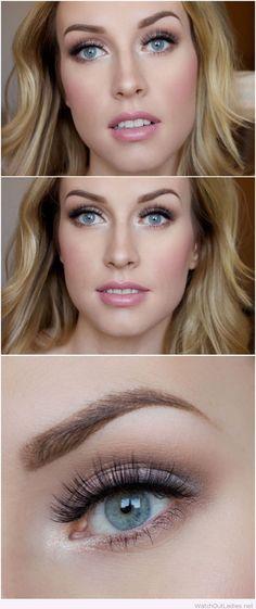 Soft and super pretty bridal makeup inspiration