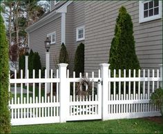 Westchester Picket Walk Gate | Entrance Gates, Wood Gates, and more from Walpole Woodworkers