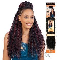 Modelmodel Synthetic Hair Braids Glance Bahama Curl 20 Samsbeauty Crochet Hairstyles Braided