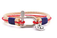 SALTI Nautical Rope Bracelet 3rd Wave SHACKLE FREE Worldwide shipping