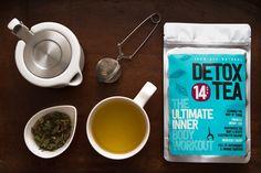 Love this Tea! 100% All Organic Detox Tea by Young Leaf has been my STAPLE go to DETOX TEA~ #Detox #Weightloss #Diet #UnfairAdvantage