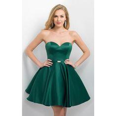 Sexy Dark Green Emerald Homecoming Dresses Vestidos with V Neck ...
