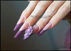 by Lucyna Lysy Indigo Nails Lab - Find more Inspiration at www.indigo-nails.com…