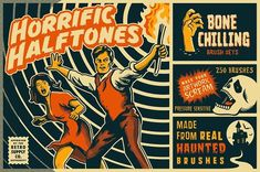 Graphic Design - Graphic Design Ideas  - Horrific Halftones Photoshop Brushes by RetroSupply Co. on Creative Market   Graphic Design Ideas :     – Picture :     – Description  Horrific Halftones Photoshop Brushes by RetroSupply Co. on Creative Market  -Read More –