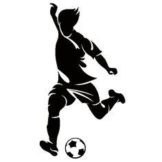 Vinilos Decorativos: Jugador Futbol