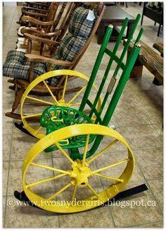 Rocking chair, redneck style.