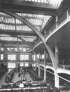 Fabrikhalle Esders, Paris 1919 Auguste Perret