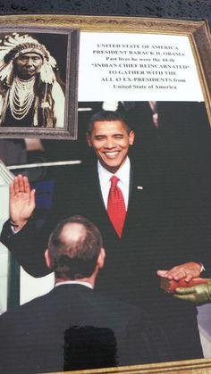 44-dik Amerikai elnok Barack H.Obama mint az osszes Amerikai elnok **INDIAN FONOKOK UJASZULETESE**...Reinkarnacioja