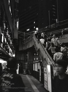This pic was shoot by Fuji GS645S with ILFORD DELTA3200 PROFESSIONAL. by otviolin