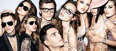 Just Cavalli Spring 2012.  Models: Lindsey Wixson, Ruby Aldridge, Jac, Benjamin Eidem, and Josh Beech.  Photographer: Terry Richardson.