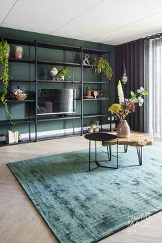 #interieur #vloerkleed #pvc #botanisch #industrieel #groen #trend