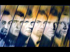 bonds------(L_R)  Sean       Connery, ?, Roger Moore, Timothy Dalton,Pierce Brosnan, And Daniel Craig