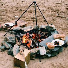 #Idea BBQ on the beach #WatergateBay