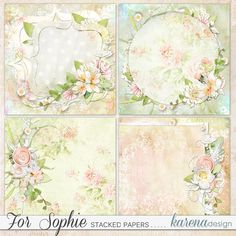 Digital Scrapbooking, Paper Crafts, Pretty, Shop, Collection, Design, Home Decor, Weddings, Room Decor