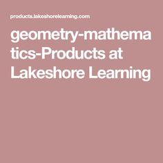 geometry-mathematics-Products at Lakeshore Learning