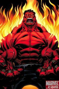 incredible hulk | The Red Hulk