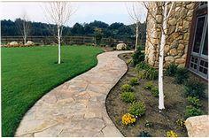 Flagstone Pathways: Joshua Zelmon Stone Design