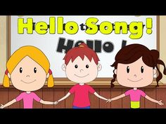 Welcome & Good Morning Songs For Young Children