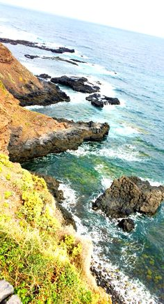 Tenerife Atlantic coast in February.