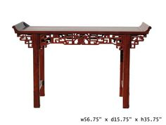 chinese red rosewood ru yi altar table afs432 table dining sethttp amazoncom oriental furniture rosewood korean tea table