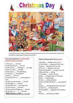 Christnas Time Crossword Puzzle worksheet - Free ESL printable worksheets made by teachers English Vocabulary, English Grammar, Teaching English, English Language, Christmas Worksheets, Christmas Activities, English Christmas, Christmas Fun, Xmas