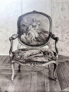 FAUTEIL - armchair with pierced arm