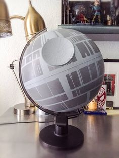 Death Star Globe by Coscomomo.deviantart.com on @DeviantArt