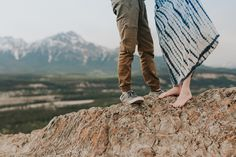 Caity and Mac Mountain Top Adventure Session at Jasper National Park, Old Fort Point by Emilie Smith Adventure Photography - 6340_Stomped.jpg