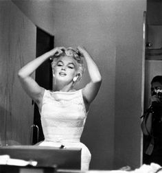 Marilyn Monroe photographed by Eve Arnold, 1955.