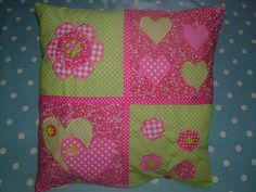 Button Fayre custom designed cushion cover