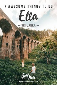 7 Awesome Things To Do in Ella, Sri Lanka Cool Places To Visit, Places To Travel, Travel Destinations, Sri Lanka Destinations, Sri Lanka Photography, Travel Photography, Travel Guides, Travel Tips, Ella Sri Lanka