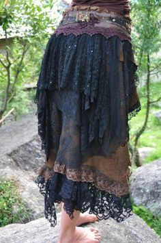 Layered Gypsy Skirt