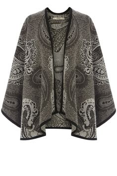 Be perfect in Paisley this season in our lovely blanket jacket  which fuses fashion and comfort in the best possible way. we are planning to keep things monochrome with a simple cami and skinny jeans combination in contrast to the fancy paisley print  but why not try clashing with another colour