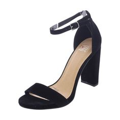 1bbbaed7b9c Delicious - Women s Hi Chunky Heel - Black Salto Alto
