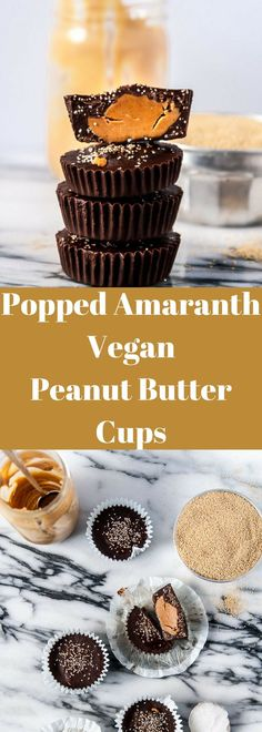 If you want a little twist on the traditional homemade peanut butter cup, these are your jam!