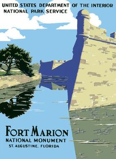 Fort Marion National Monument – Vintagraph