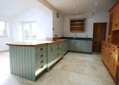 Solid Wood, handmade in Wales, bespoke kitchen