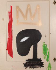 JEAN MICHEL BASQUIAT Jm Basquiat, Jean Michel Basquiat, Life Paint, Neo Expressionism, Andy Warhol, Vincent Van Gogh, Graffiti, Canvas, Prints