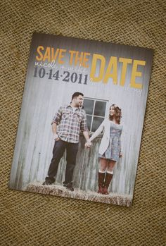 Customized Save the Date Magnet- 100 Quantity- Choose a Design, we add Your Photo, Colors, and Wedding information - 4x6 Magnet $150 Etsy No envelope